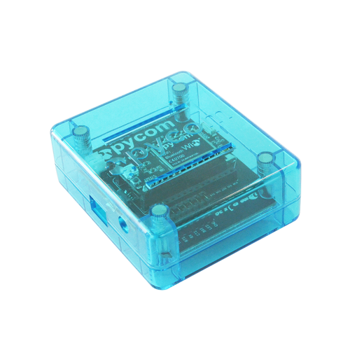 Pycase Blue with Expanansion board