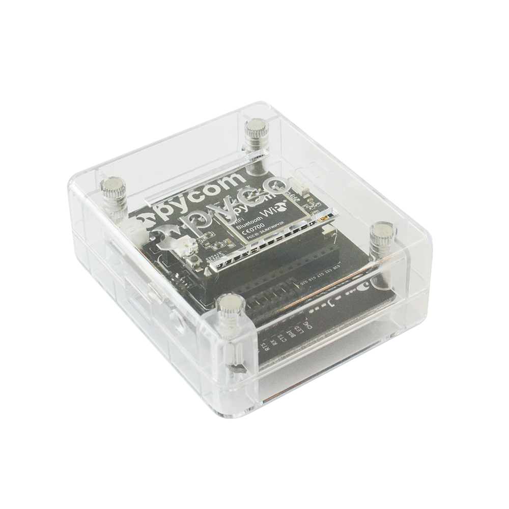 Pycase Clear with expansion board