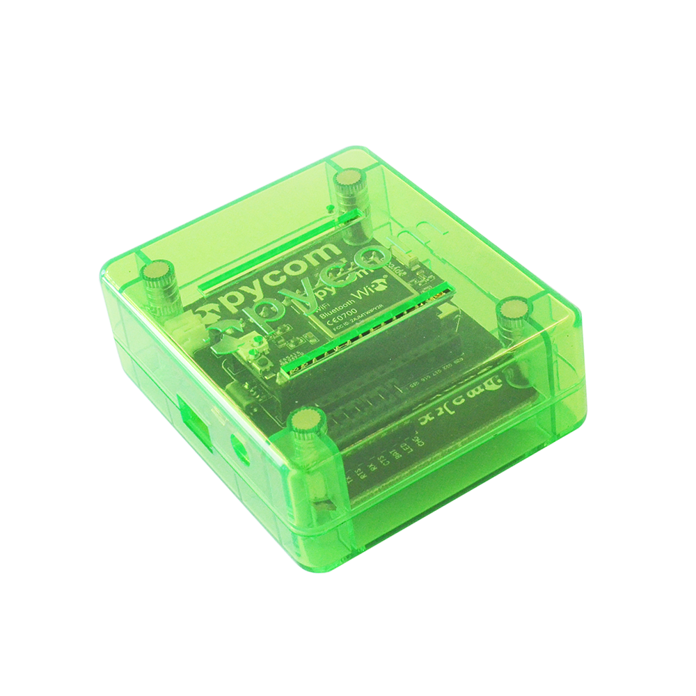 Pycase Green with Expansion Board