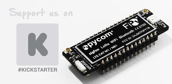 FiPy Kickstarter Campaign