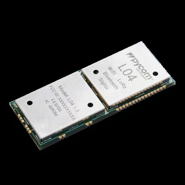 Lopy L04- micropython programmable Wi-Fi, LoRa Bluetooth networks