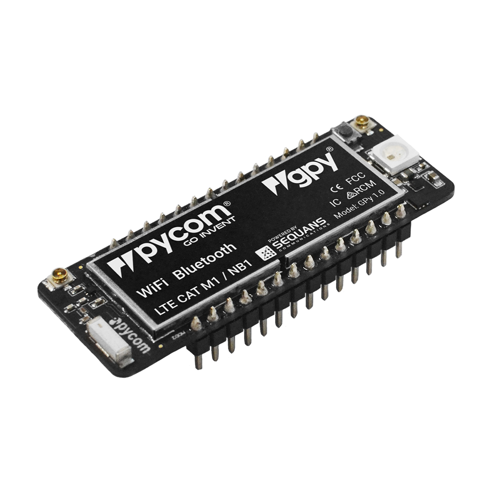 Gpy Triple Network Wifi Bluetooth And Lte M Dev Board Category Amplifiers Analog Ics Products Tags