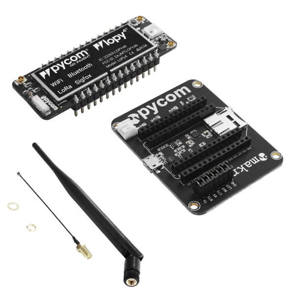 Lopy- micropython programmable Wi-Fi, LoRa Bluetooth networks
