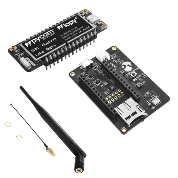 Lopy- micropython programmable Wi-Fi, LoRa Bluetooth networks
