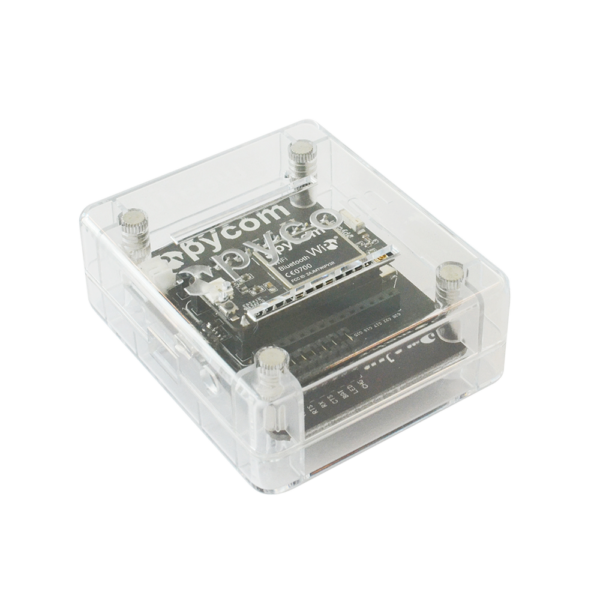 Pycase clear cases for development boards