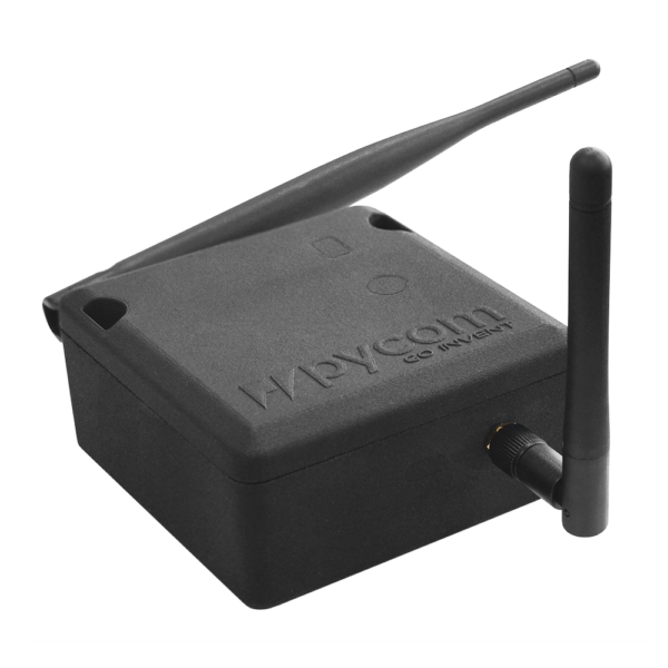 Pycase black iot hardware two antennas