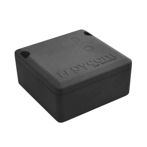 Pycase black iot hardware accessories, IP67 case