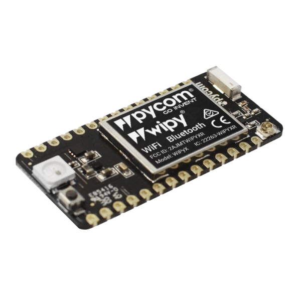 micropython programmable with Wi-Fi and bluetooth networks