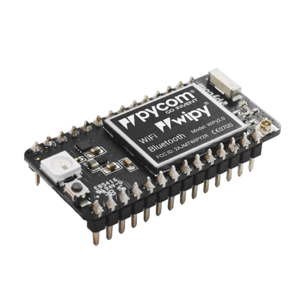 micropython programmable featuring Wi-Fi and bluetooth networks