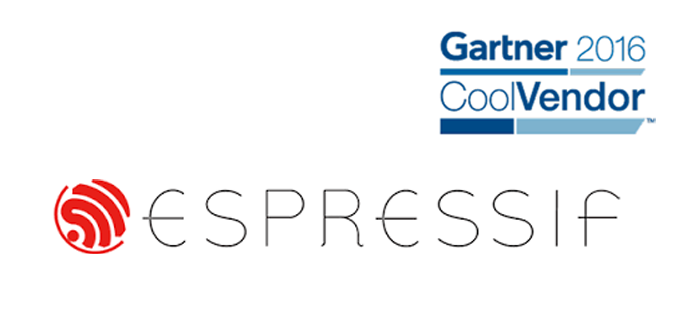 "Espressif Named ""Cool Vendor"" in IoT 2016 by Gartner"