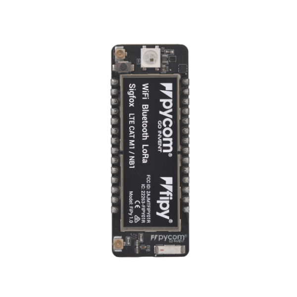 FiPy development boardWi-Fi, Bluetooth LoRa gateway and Sigfox