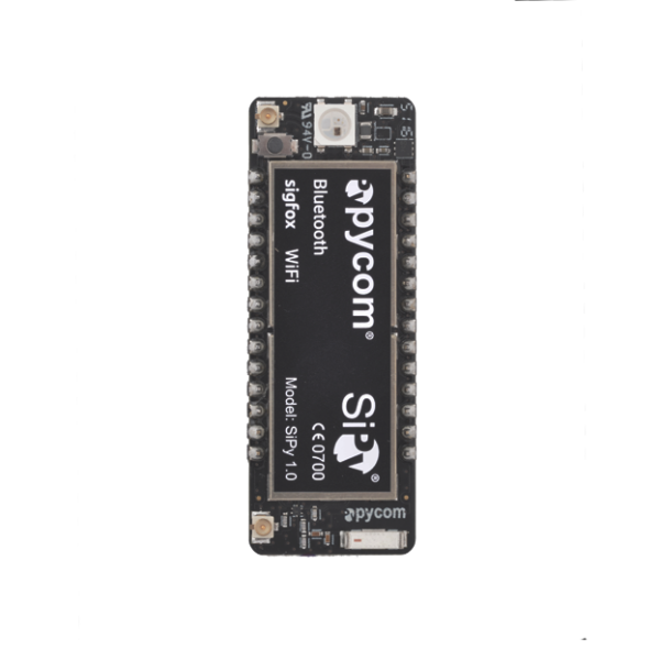 SiPy development board for iot devices