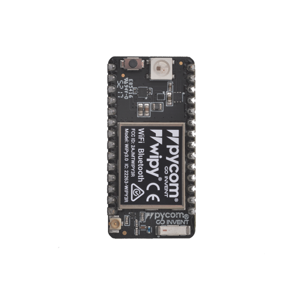 WiPy development board with WiFi and Bluetooth