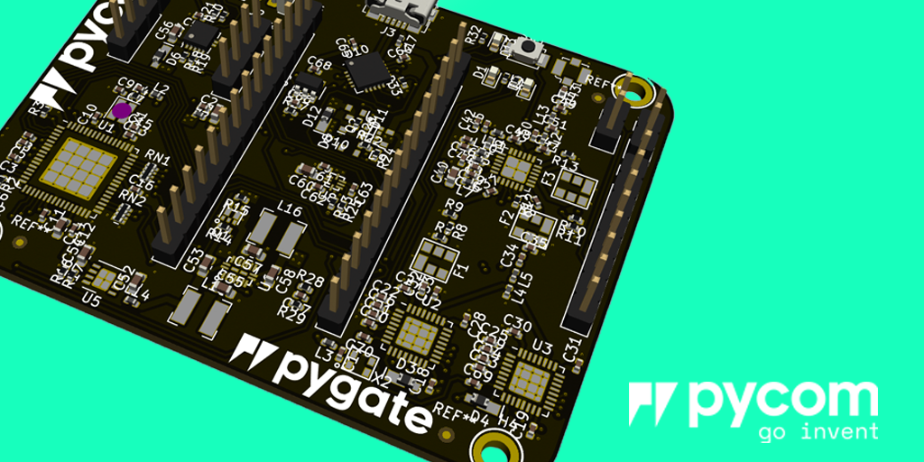Pygate – the new super low-cost 8-Channel Gateway