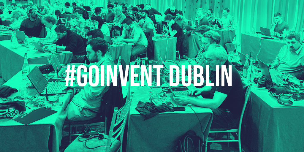 Internet of things world series event Go Invent Dublin