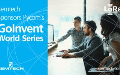 Official PR – Semtech Sponsors Pycom's GOINVENT World Series