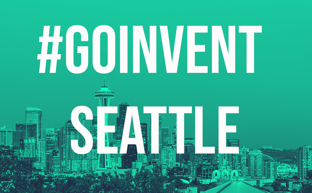 GOINVENT Seattle – 12th September 2019