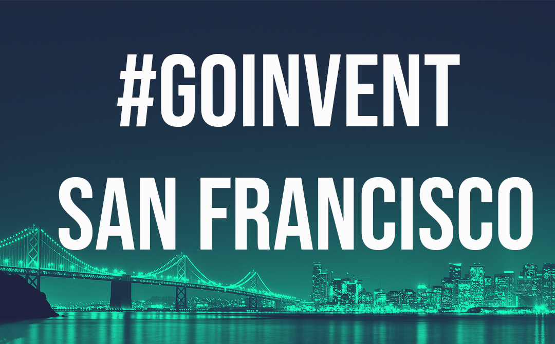 GOINVENT San Francisco – 16th September 2019