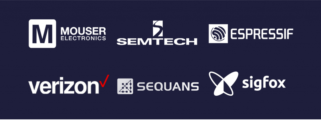 Mouser Electronics, Semtech, Espressif, Verizon, Sequans and Sigfox