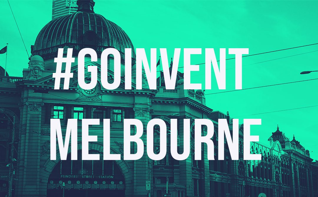 Internet of things world series event Go Invent Melbourne
