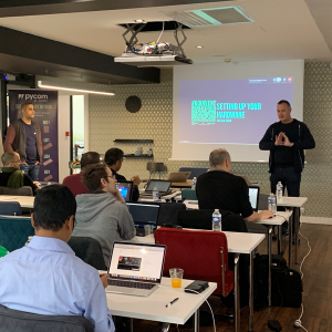 paris go invent workshop for iot students and developers