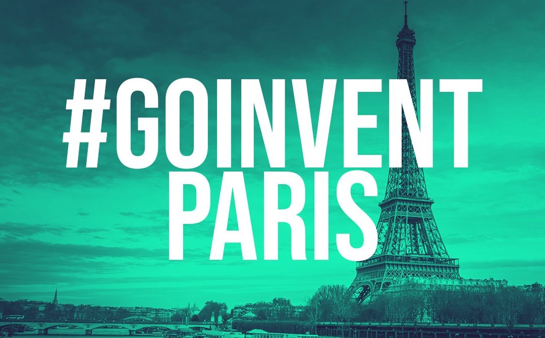 #GOINVENT Paris – 3rd December