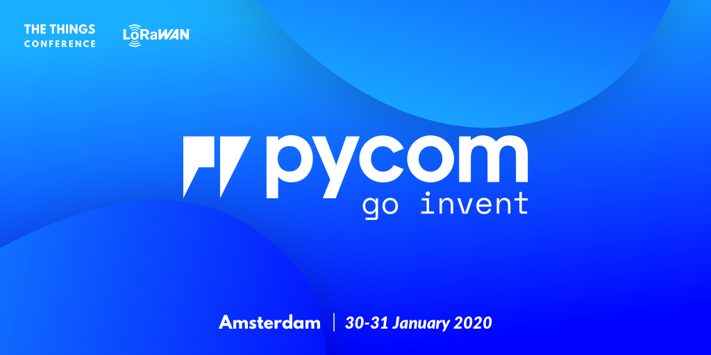 Pycom heads to The Things Conference 2020