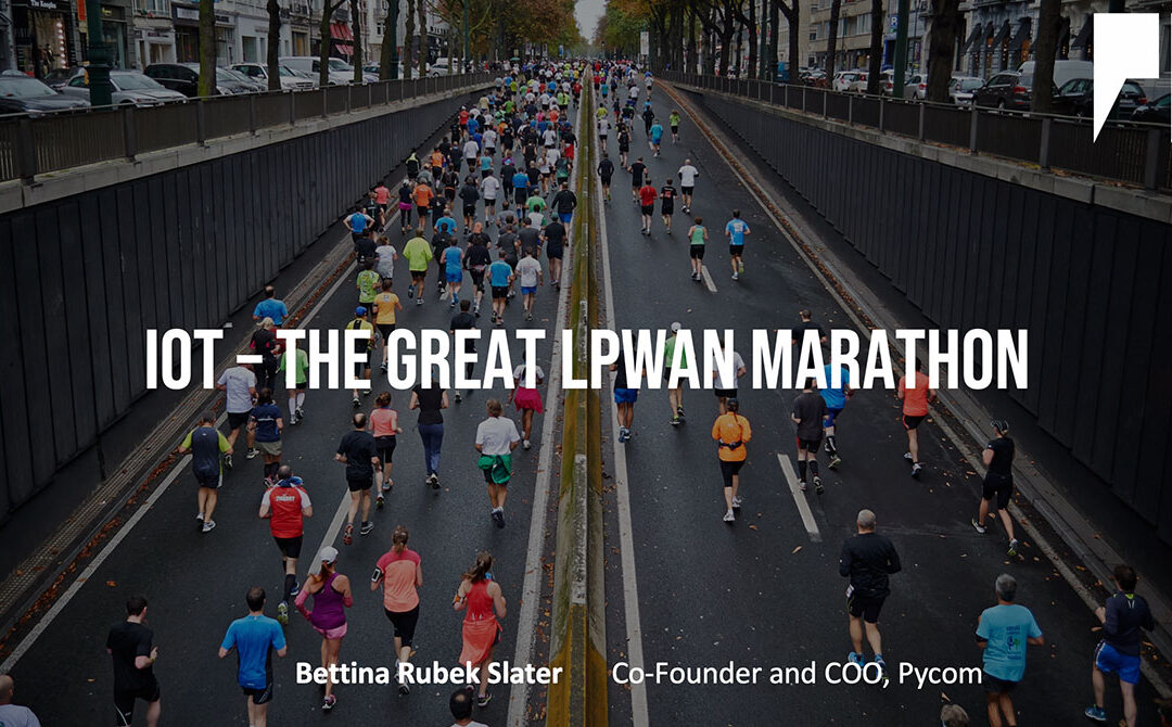 The Great LPWAN Marathon – have you entered?