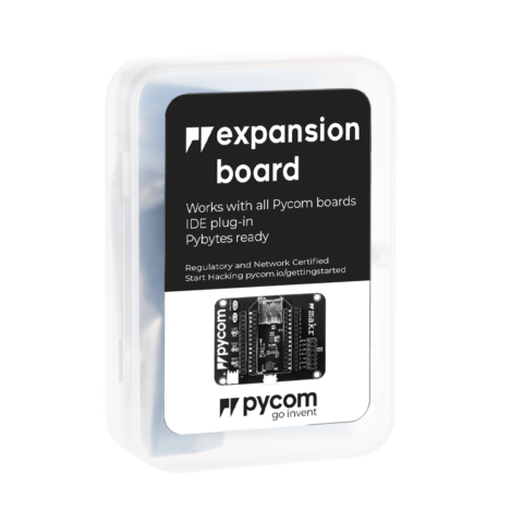 Expansion board - micropython programmable offering WiFi, BLE and LoRa gateway