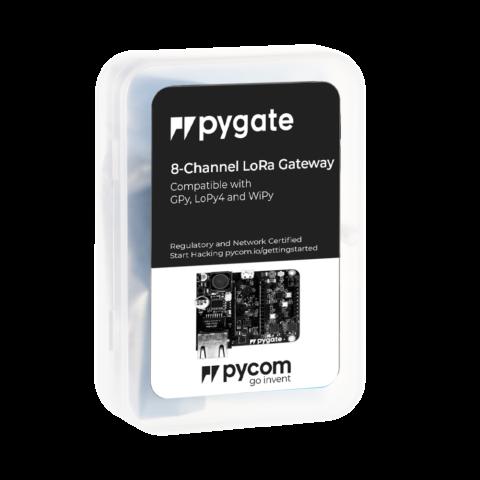 Pygate+PoE 8 channel LoRaWAN gateway gateway
