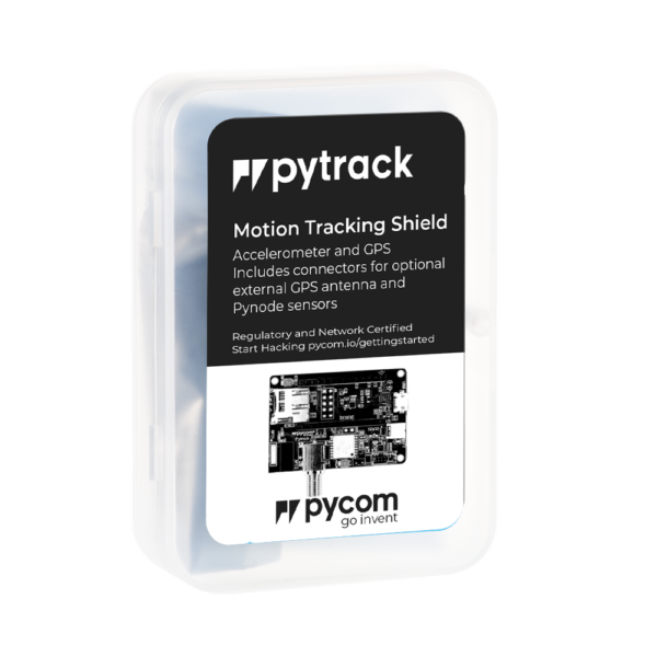 Pytrack Motion tracking shield internet of things