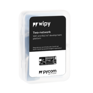 Wipy - micropython programmable offering WiFi, BLE and LoRa gateway