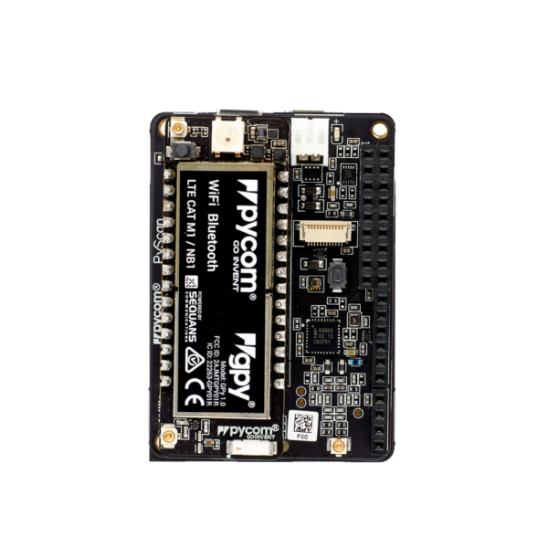 Pytrack gpy- micropython programmable featuring Wi-Fi, LoRa, Sigfox and LTE-M