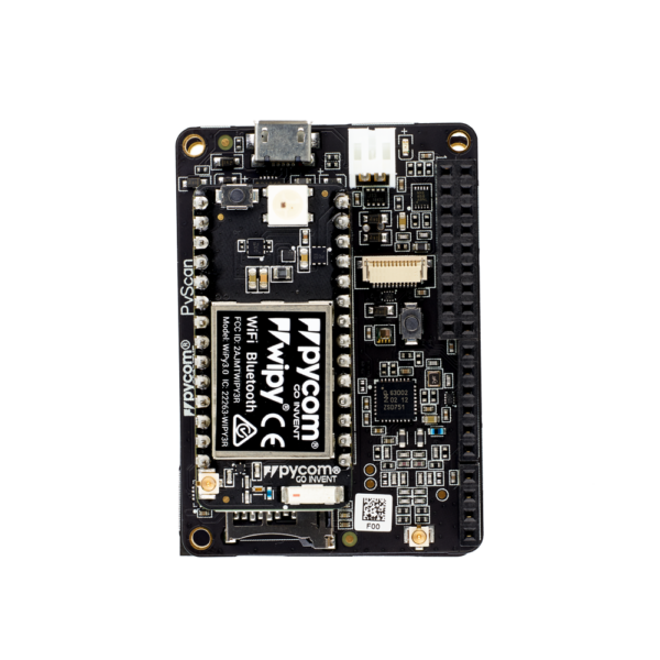 Pytrack wipy - micropython programmable featuring Wi-Fi, LoRa, Sigfox and LTE-M