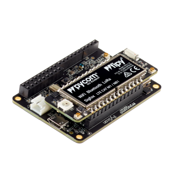 Pytrack Fipy- micropython programmable featuring Wi-Fi, LoRa, Sigfox and LTE-M