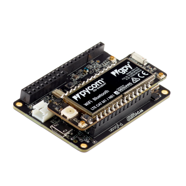 Pytrack Gpy - micropython programmable featuring Wi-Fi, LoRa, Sigfox and LTE-M