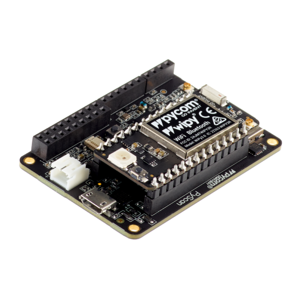 Pytrack wipy- micropython programmable featuring Wi-Fi, LoRa, Sigfox and LTE-M