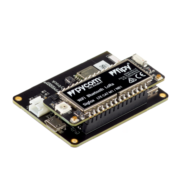 Pytrack FiPy - micropython programmable featuring Wi-Fi, LoRa, Sigfox and LTE-M