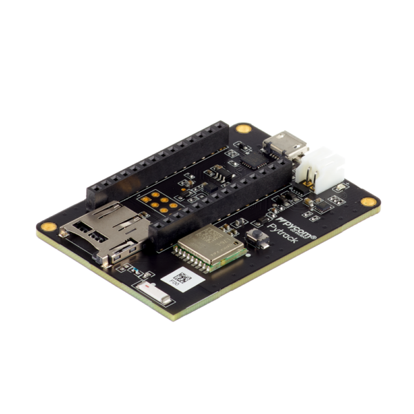 Pytrack - micropython programmable featuring Wi-Fi, LoRa, Sigfox and LTE-M
