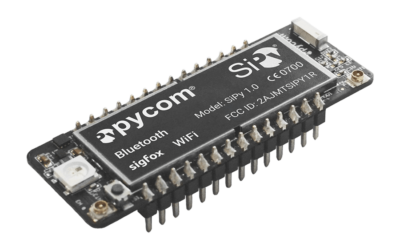 Sending A Sigfox Message With MicroPython