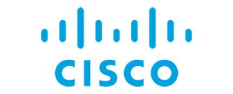 Cisco Logo, a global company developing networking hardware and telecommunications software.