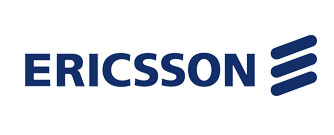 Telefonaktiebolaget LM Ericsson Logo, telecommunications company based in Stockholm, Sweden.