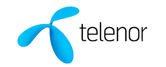 Telenor ASA Logo, a telecommunications company based in Fornebu, Norway and majority-state owned by Government of Norway