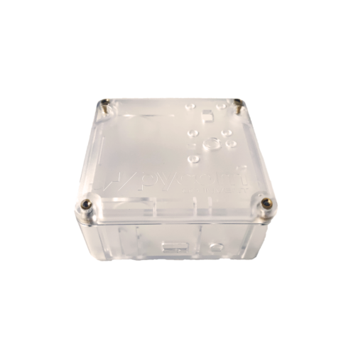 Clear IP67 Case for IoT Projects front