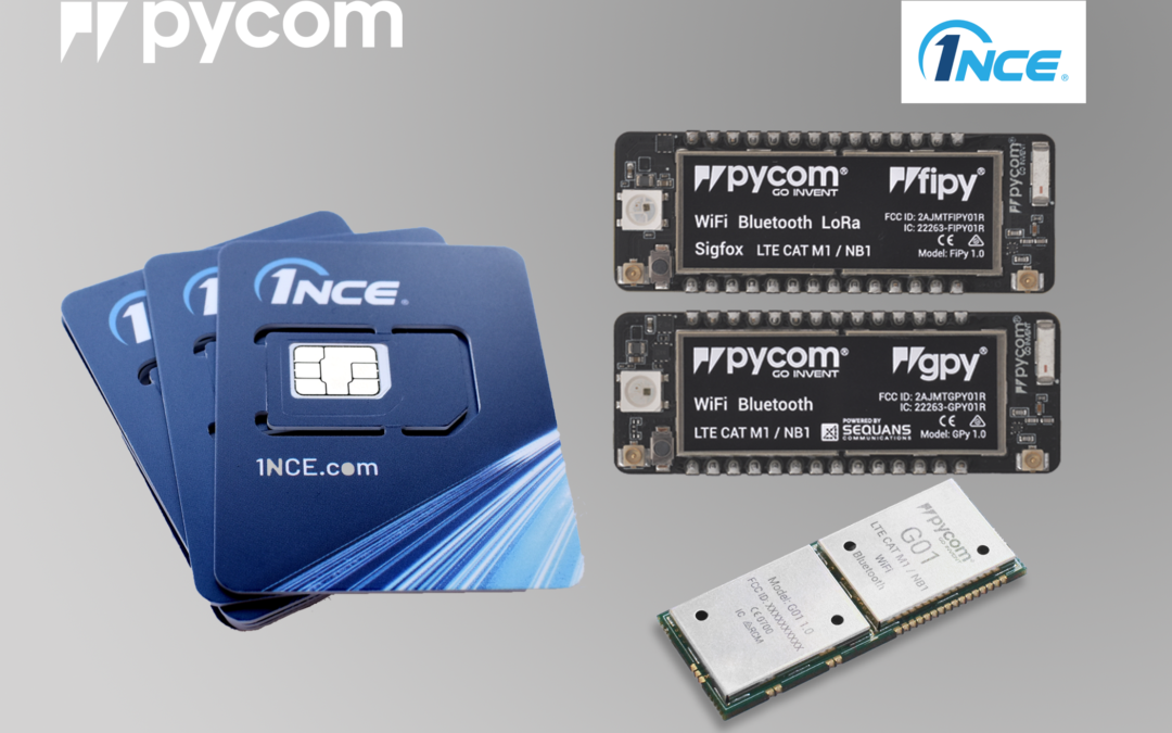 PRESS RELEASE – IoT partners Pycom and 1NCE cut costs of full-stack IoT with an all-in offering starting at 1 Euro